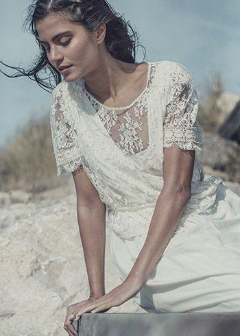 Idée robe pour mariage champêtre  de Laure de Sagazan