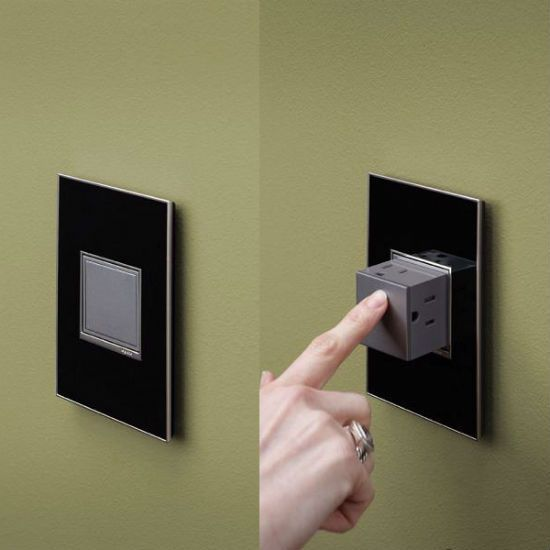Pop-Out Wall Outlet - Take My Paycheck - Shut up and take my money! | The coolest gadgets, electronics, geeky stuff, and more!
