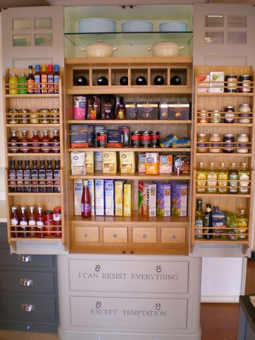 Larders & Pantry Cabinets - built-in or freestanding   Simon's