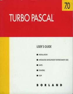 Borland Turbo Pascal is definitely the most successful and popular Pascal compiler ever. Comfortable Integrated Development Environment (IDE), elegant syntax, fast compilation and effective generated code are some of the strongest points of Turbo Pascal - a powerful programming tool which has contributed to the popularity of Pascal programming language.