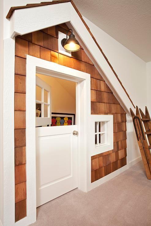 25 best ideas about under stairs playhouse on pinterest for Basement closet ideas