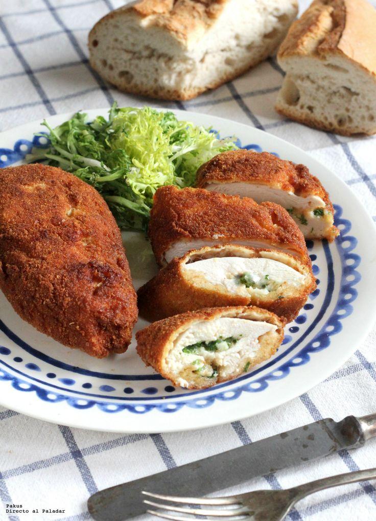Te enseñamos fácilmente y paso a paso la receta de pollo a la Kiev, una receta para ir entrando en ambiente eurovisivo. Con ingredientes, elaboración, tiempo