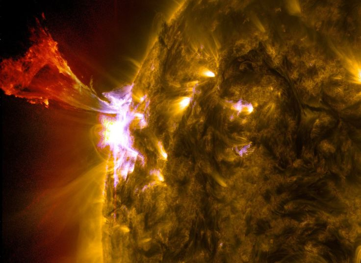 """""""Phoenix"""" Prominence Eruption On The Sun - Awesome Eruption"""
