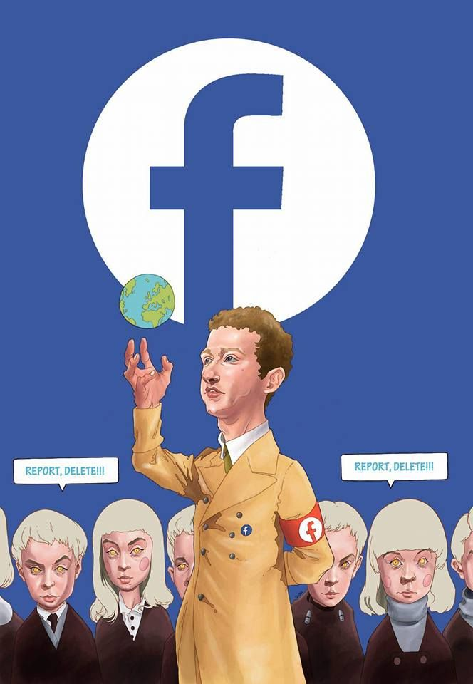 Mark Zuckerberg. Information is power.