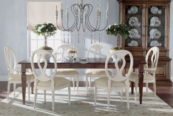 Ethan allen romance dining room the heart of the home for Ethan allen dining room