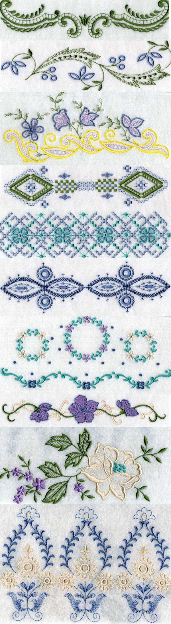 Linens 1 Embroidery Machine Design Details