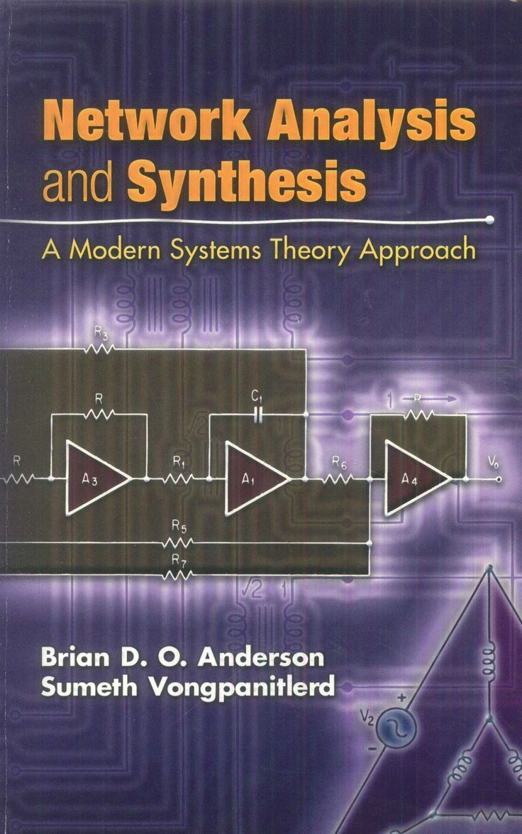 Geared toward upper-level undergraduates a graduate students, this book offers a comprehe sive look at linear network analysis and synthesis. explores state-space synthesis as well as analysi employing modern systems theory to unite the classic concepts of network theory. http://store.doverpublications.com/048645357x.html