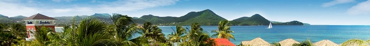 St. Lucia Excursions, Tours & Trips, Historic Sites: Sandals Grande St. Lucian Resort