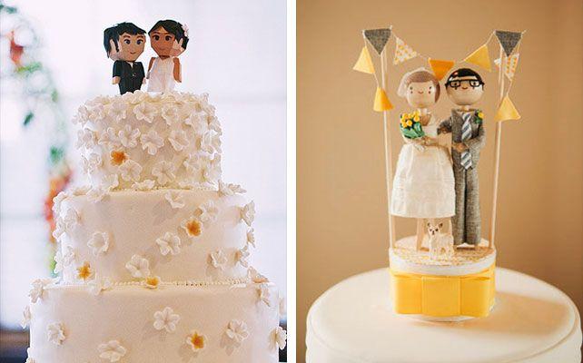 индивидуальные фигурки для свадебного торта