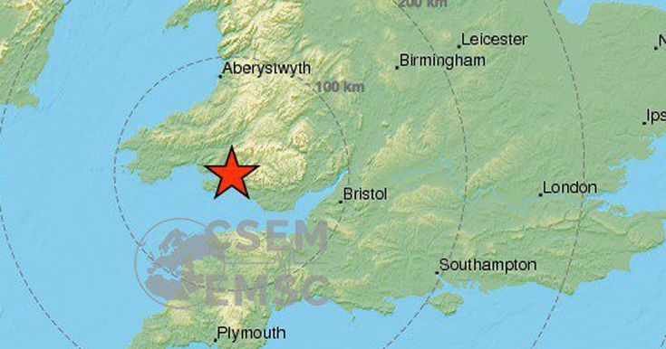 Terrified Britons told of damaged buildings, objects falling off shelves or walls, furniture moving and lights flickering when the strongest tremor in a decade hit just after 2.30pm near Swansea in South Wales