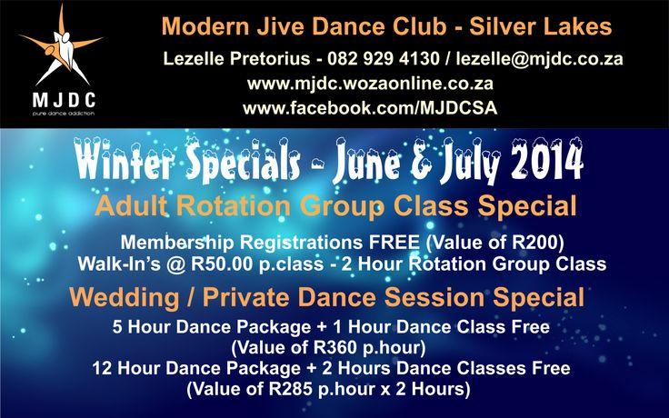MJDC Winter Specials - June & July 2014