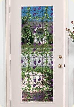 Grapevine Decorative Stained Glass Window Film - Window Film World