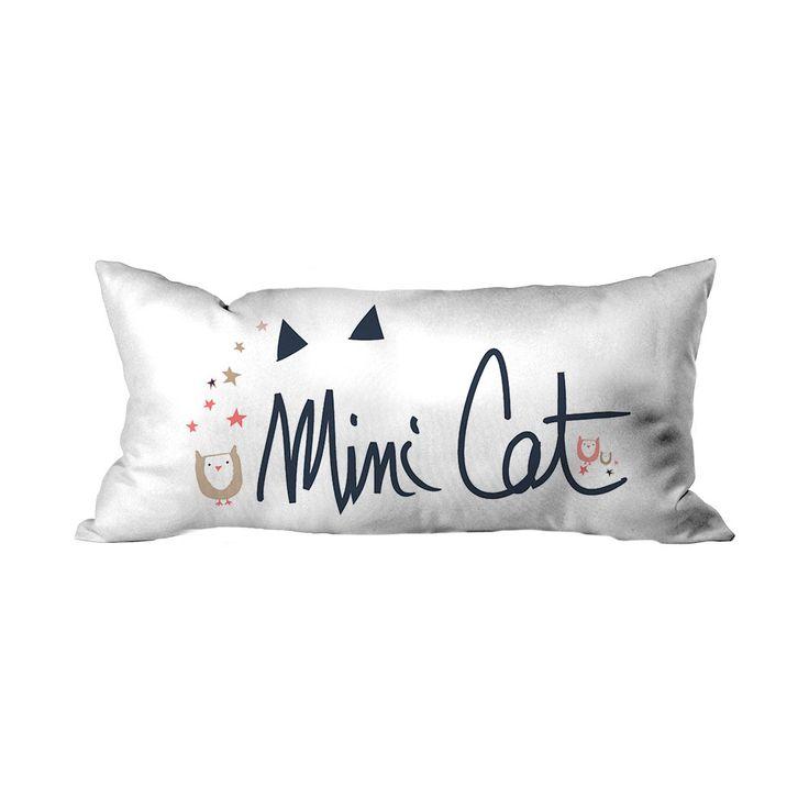 Minik Kedi Yazılı Çocuk Kırlent - Kırlentler - Cipcici