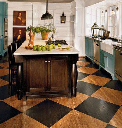 love the wood floors!