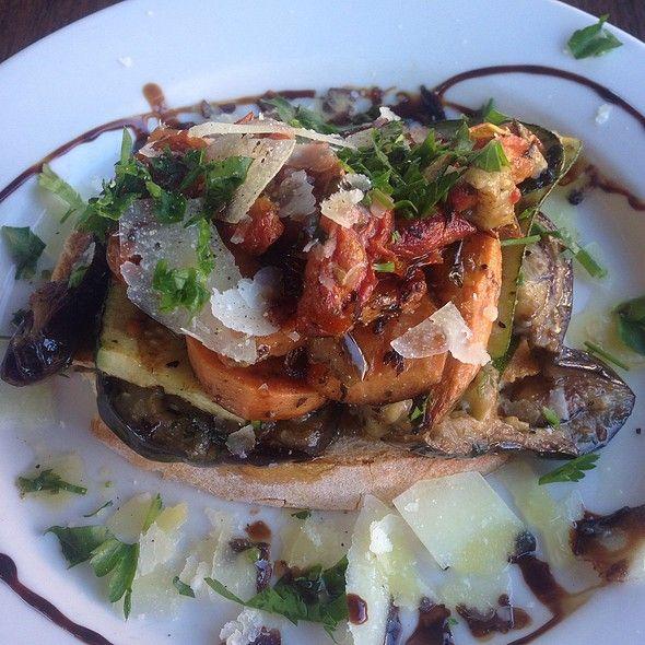 Vegetable Brusche @ Blackbird Cafe
