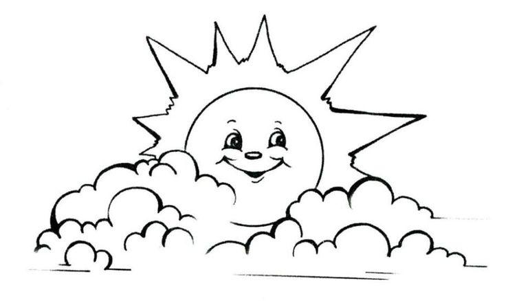 Gratis Malvorlagen Sonne Malvorlagencr