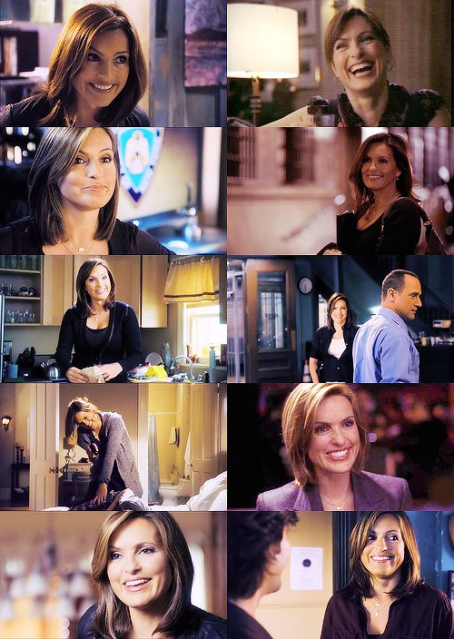 Olivia Benson smile appreciation post.