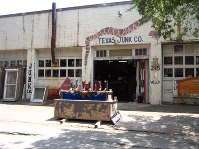 If you are looking for great cowboy boots, you have to stop by Texas Junk Co in Houston.  It is loaded with hundreds of vintage boots.  Ah-mazing.