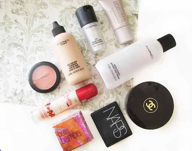 worth the hype beauty products, mac blush, nars orgasm, bourjois healthy mix, mac fix plus, chanel soliel tan de chanel, face and body, benefit box powders, laura mercier primer