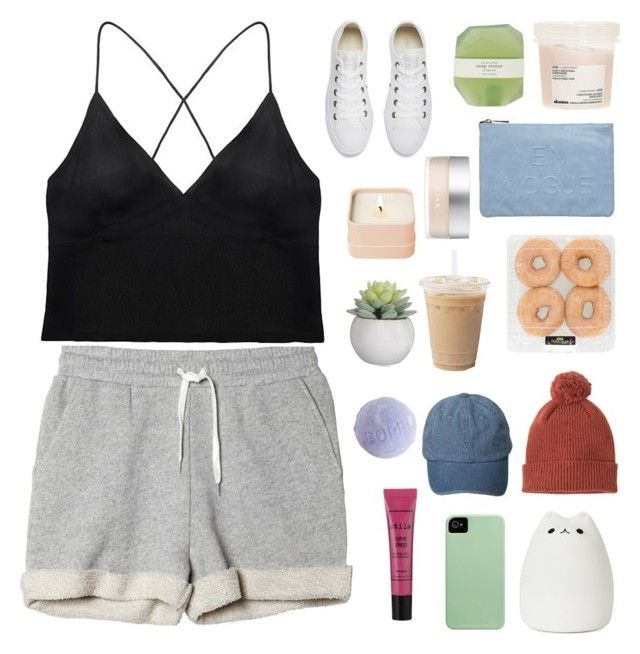 """this is gospel for the fallen ones, locked away in permenant slumber"" by mytaintedheart ❤ liked on Polyvore featuring Miss Selfridge, Davines, Henri Bendel, Converse, Monki, Curriculum Vitae, Pelle, Stila and RMK"