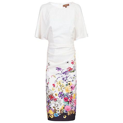 Buy Jolie Moi Floral Cold Shoulder Dress Online at johnlewis.com