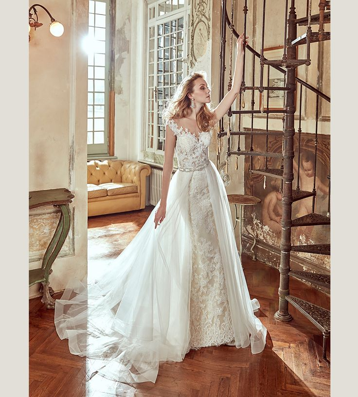 Wedding Dress Nicole 17116. Find this dress at Janene's Bridal Boutique located in Alameda, Ca. Contact us at (510)217-8076 or email us info@janenesbridal.com for more information.