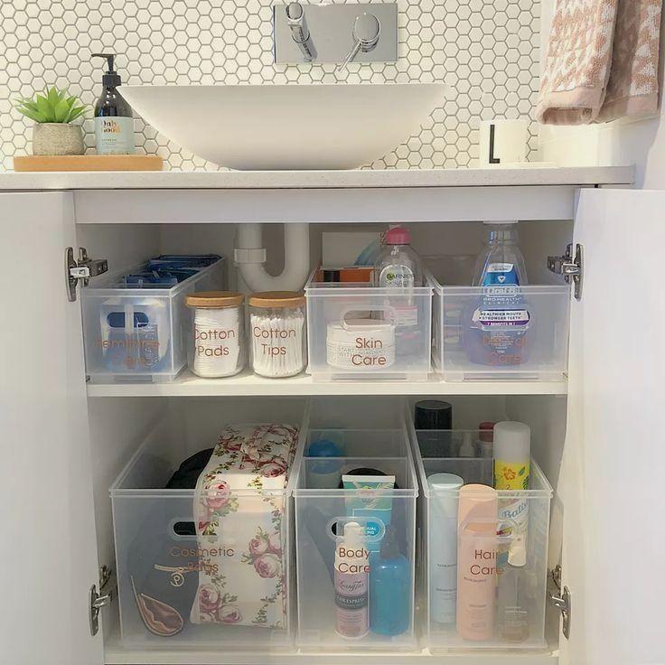 20 Creative Bathroom Organizing Ideas Bathroom Organisation Bathroom Sink Organization Diy Bathroom Storage