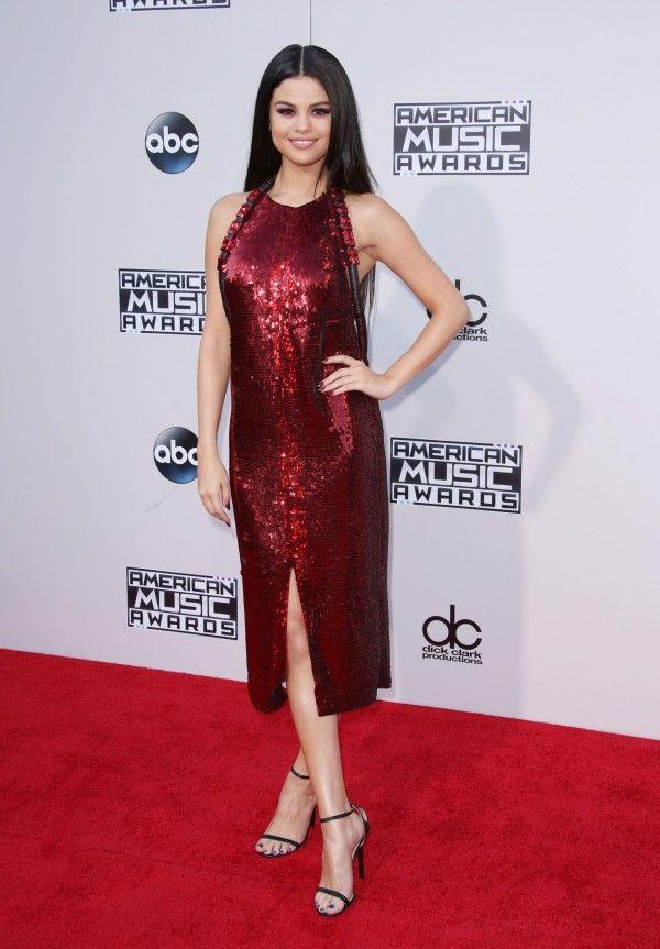 Selena Gomez Looks Ravishing In A Little Red Dress