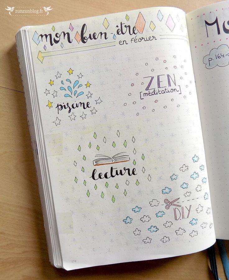 bullet-journal-tracker-bien-etre (2)  colorier symboles si fait