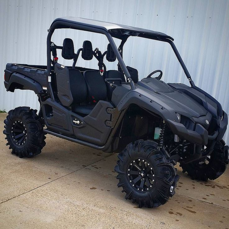 Yamaha viking lifted pictures to pin on pinterest thepinsta for Yamaha viking 6 seater top speed