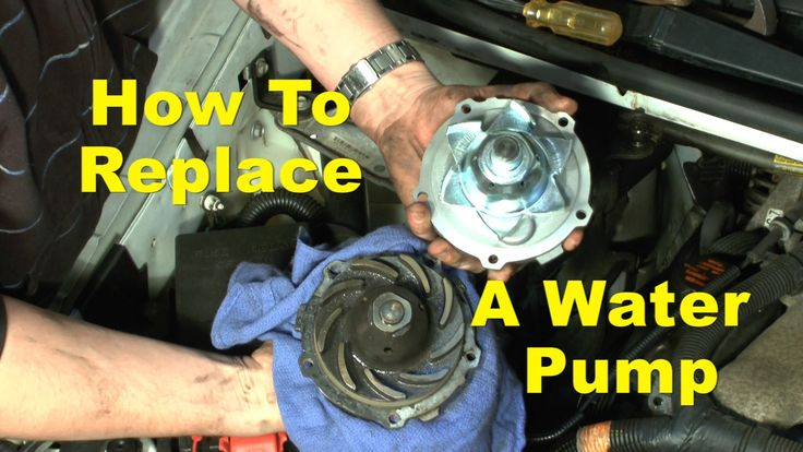 Water Pump Trouble Signs & How To Replace Your Defective