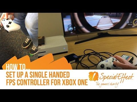 YouTube videos showing how to level the playing field for those with disabilities and playing video games. Courage Kenny Rehabilitation Institute
