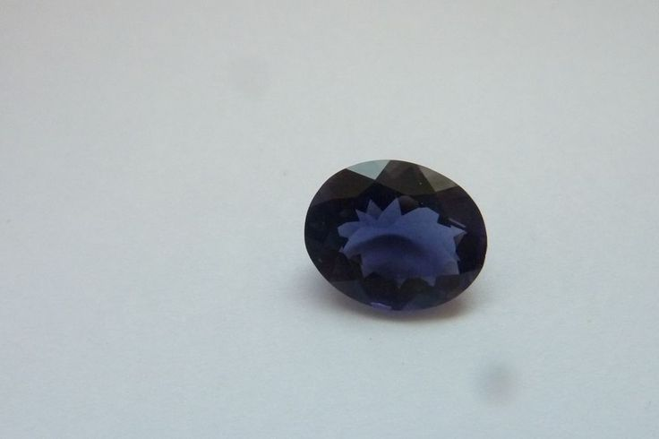 2.70 Cts Oval Shape Blue Color 100% Natural Iolite Loose Gemstone ~ 11*9 MM #KinuBabaGems