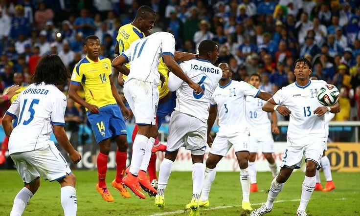 Honduras 1-2 Ecuador: Enner Valencia scores twice to seal comeback win