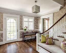 modern Corridor, hallway & stairs by Clean Design
