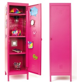 Full size lockers for your Tween/Teen's bedroom! It's a must have!