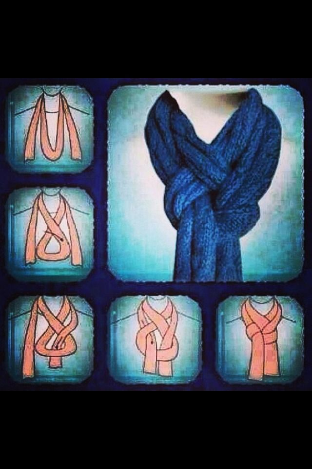 Cool way to Do Your Scarf