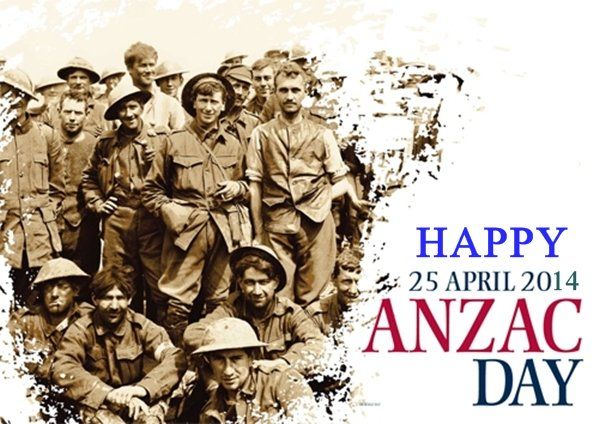 Anzac Day is a time to reflect on the servicemen and servicewomen, past and present, who have displayed courage and self-sacrifice serving our country