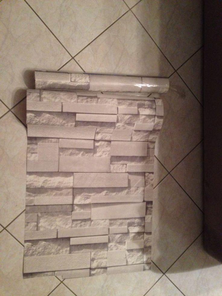 3d muro di mattoni carta da parati di pietra moderna for Carta da parati moderna per soggiorno