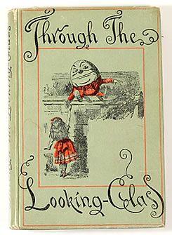 テニエル画/鏡の国のアリス 【THROUGH THE LOOKING GLASS 】1902 [著]LEWIS CARROLL(ルイス・キャロル)[絵]John Tenniel(ジョン・テニエル