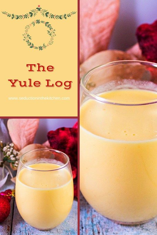 The Yule Log is a eggnog show with fireball whiskey , it is a festive drink that you will love. A recipe from Seduction in the Kitchen.com