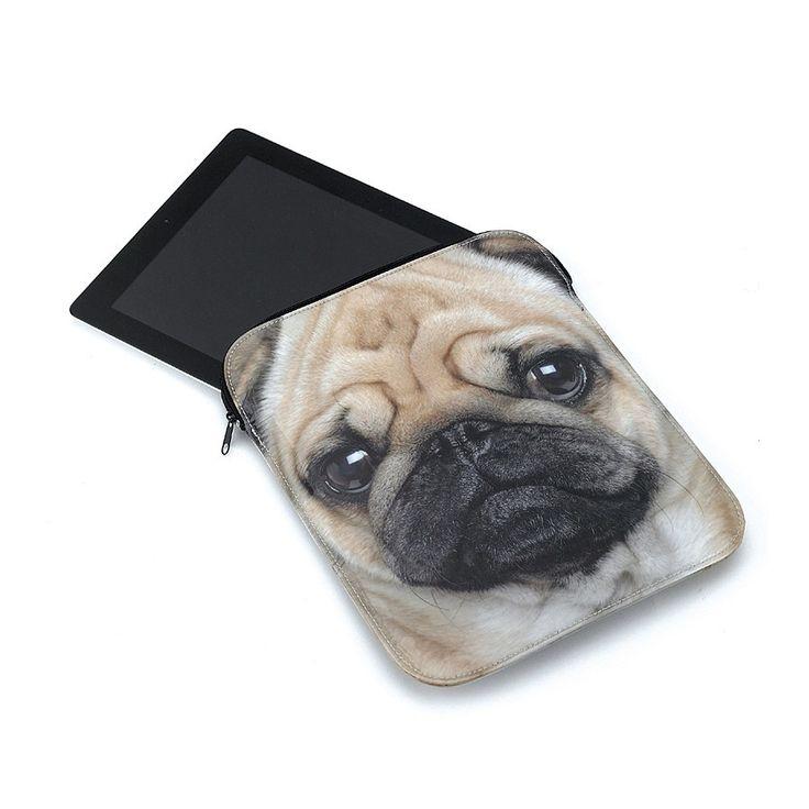 Pug iPad Sleeve
