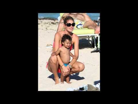 Doutzen Kroes and her husband Sunnery James and children - YouTube