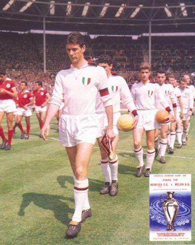 Finale Milan Benfica 1963 entrata delle squadre