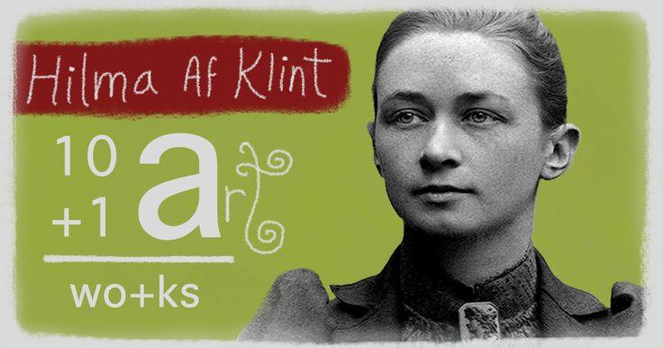The art of Hilma Af Klint 10+1 Artworks Youtube channel TRECE LUNAS Cover art by Rita Ro