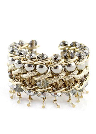 Gold Bead Chain Bracelet