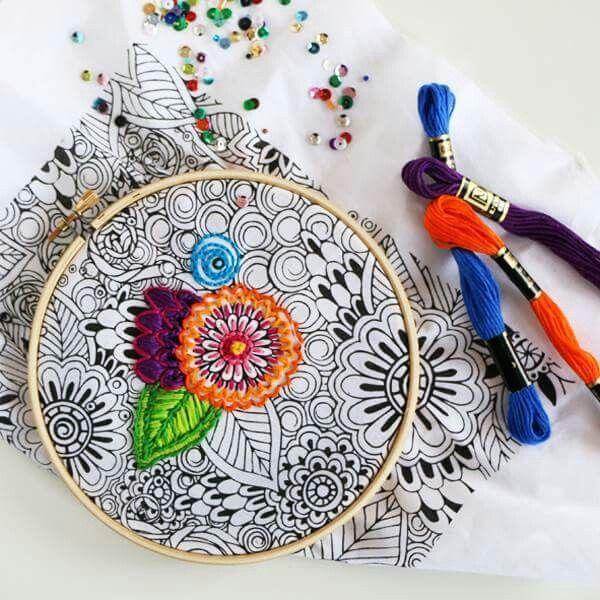 Hand Embroidery Ideas Easy Craft Ideas