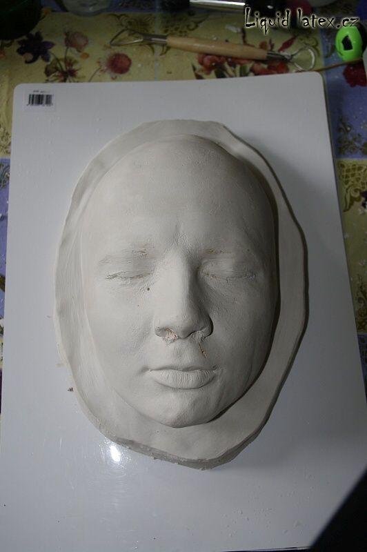 NÁVODY | Masky | Liquid latex - suroviny pro výrobu masek a speciální FX efekty, latexové barvy na tělo, tekutá guma