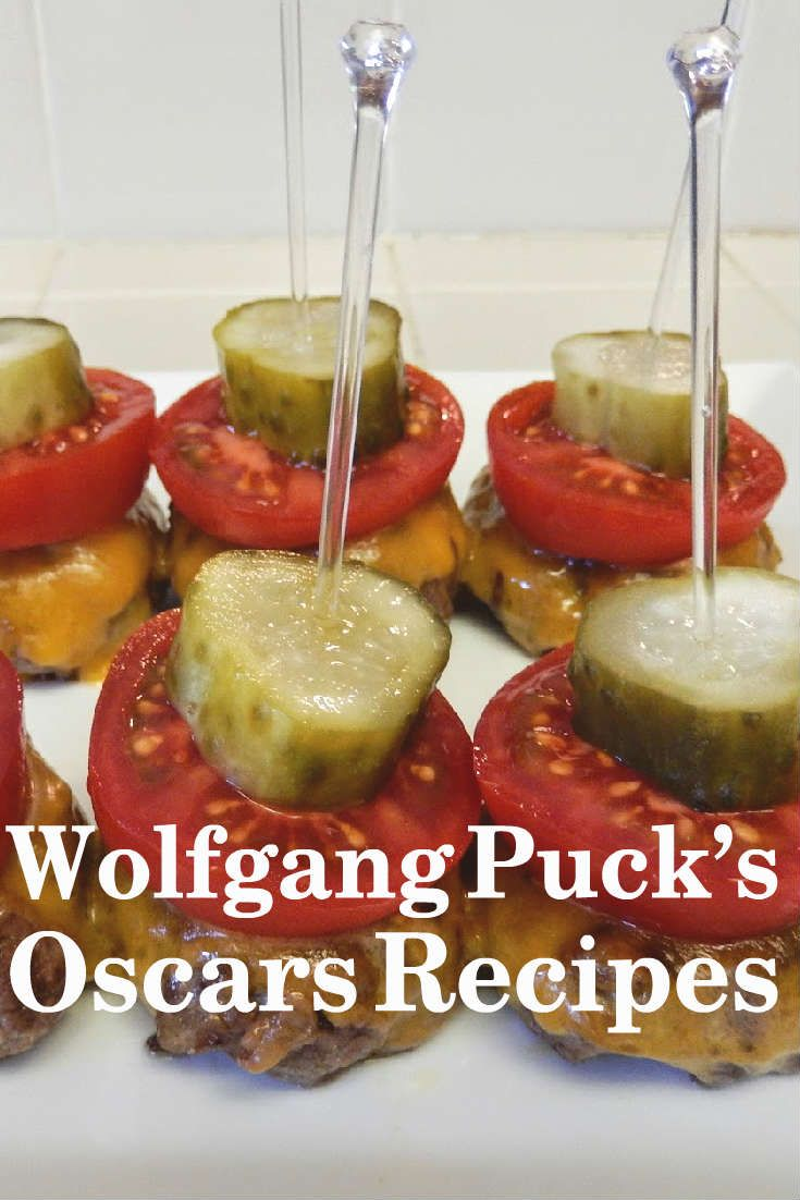 Wonder what the celebs will be noshing on at the Governors Ball after the Oscars? Host your own Oscars party with some of celebrity chef Wolfgang Puck's Oscars recipes, including healthy smoothie shots, decadent truffled mac and cheese and vegan chocolate cupcakes – perfect for Oscars host and vegan Ellen DeGeneres.