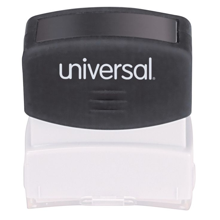Universal Message Stamp, Confidential, Pre-Inked One-Color, Red
